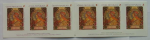 Mucha 1 Set of 6 stamps for overseas countries 2010