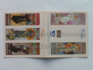 Mucha 3 Set of 6 stamps for European countries 2010 WITHOUT stamps